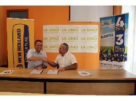 Convenio colaboración New Holland y LA UNIÓ de Llauradors