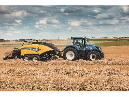 Las cosechadoras New Holland ganan dos medallas en los premios a la innovación de SIMA 2021 .